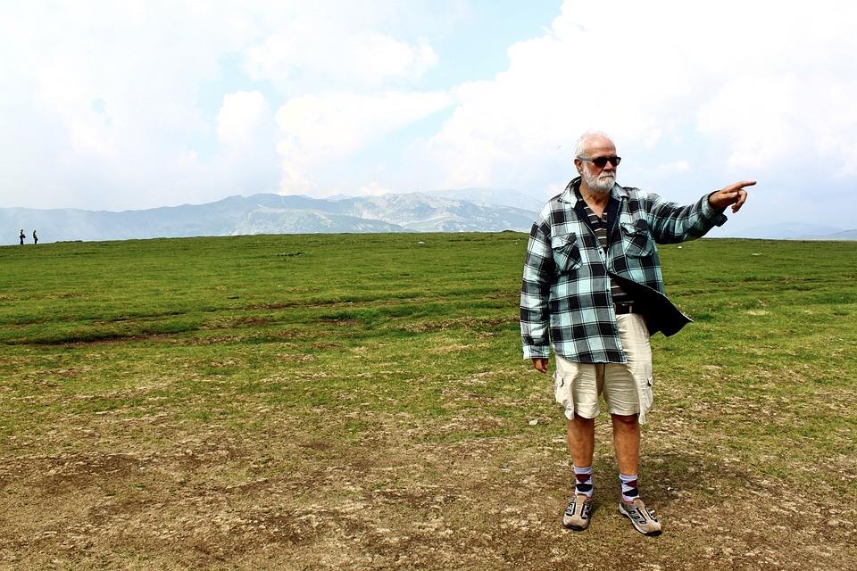 Pensioners, Romania, Holiday, Transalpina, Mountains