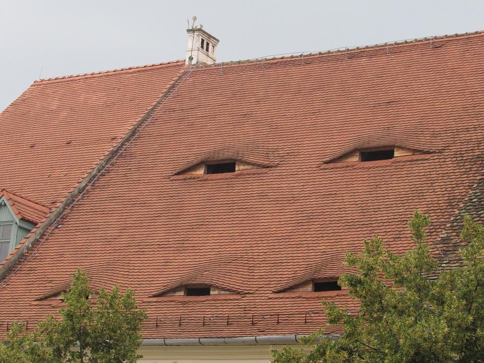 Sibiu, Transylvania, Romania, Roof, Eye