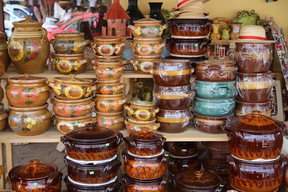 Ceramics, Pots, Tradition, Horezu, Romania, Traditional