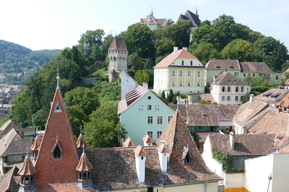 Sighisoara, Romania, Transylvania, Historic Center
