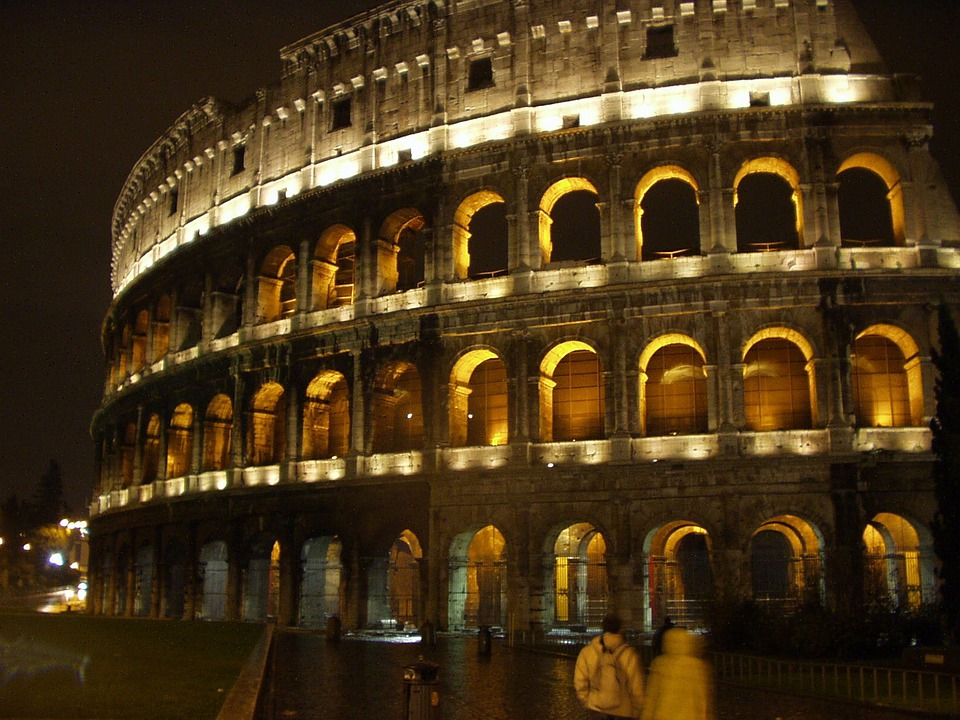 Rome, Italy, Colosseum, Romans, Roman, Old, Building