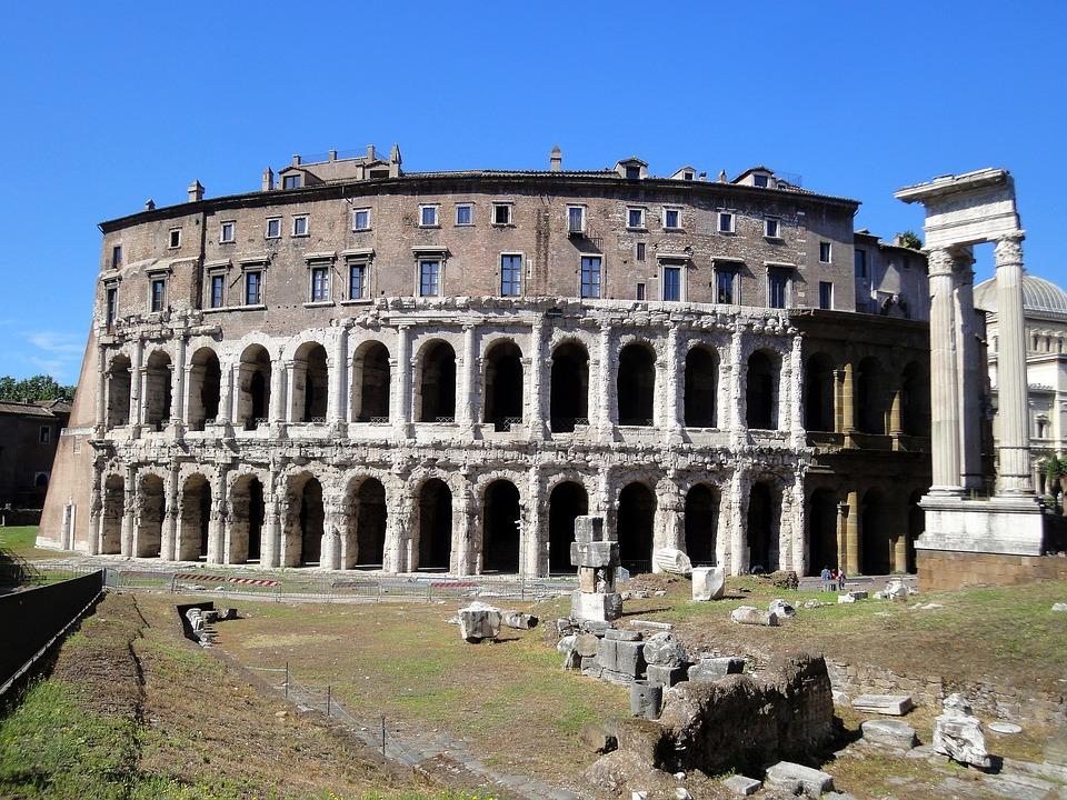 Rome, Colosseum, Monument, Old, Building, Romans