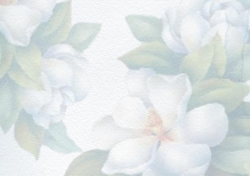 Background, Blue, Flower, Watercolor, Romantic
