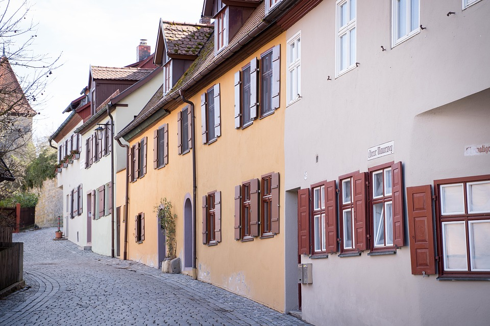 Dinosaur, Fachwerkhaus, Tower, Middle Ages, Romantic