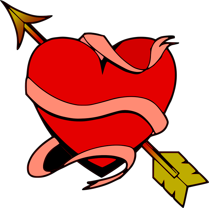 Heart, Love, Arrow, Decorative, Romantic, Valentine