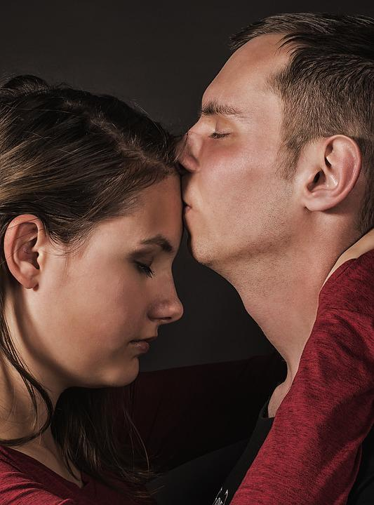 Love, Kiss, A Couple Of, Romantic, Lovers, Contact