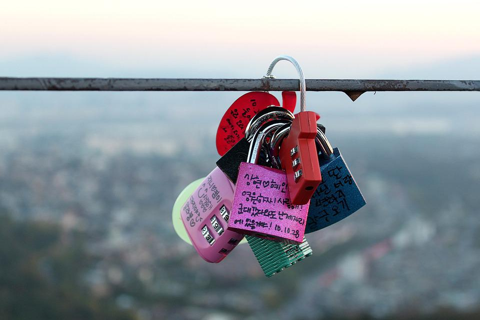 Love Lock, Locks, Symbol, Romantic, Oath, Love, Romance