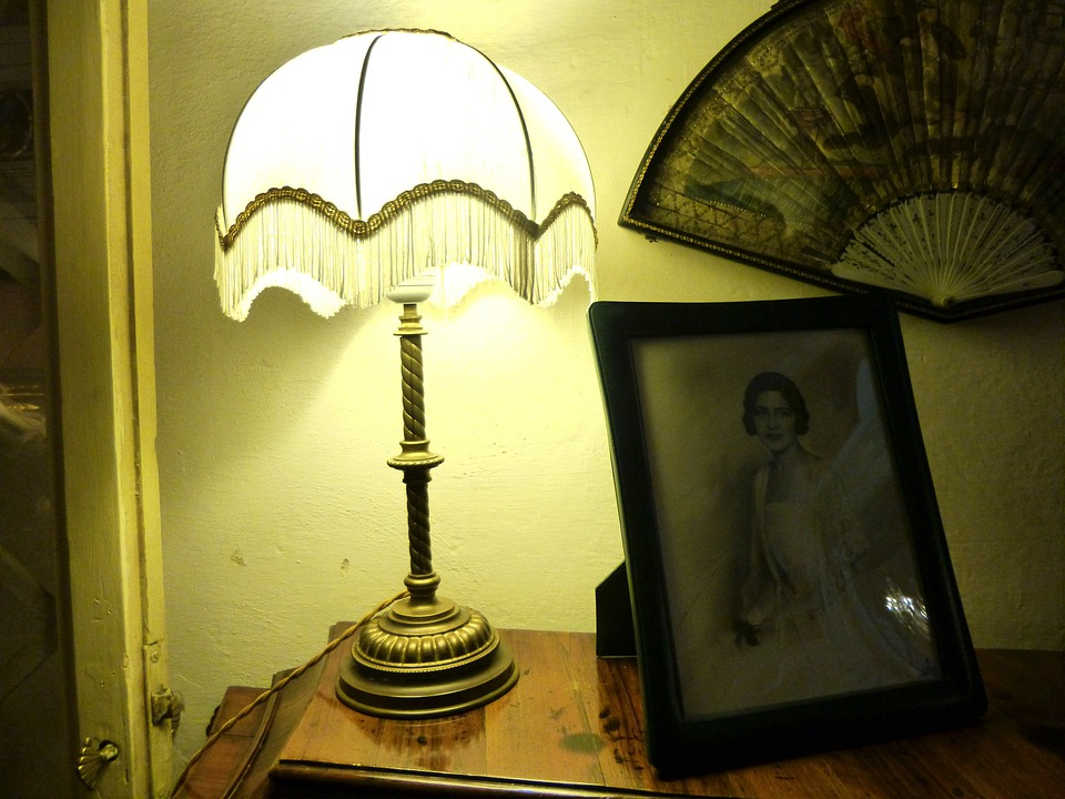 Old Fashioned, Romantic, Lamp, Light, Antique