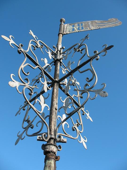 Weathervane, Old, Historically, Ornament, Romantic