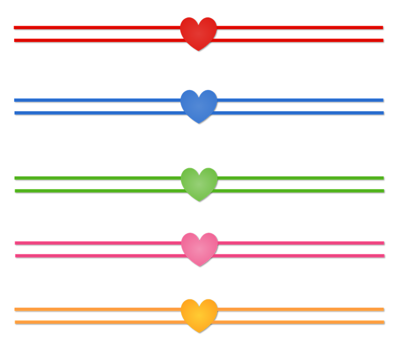 Heart, Track, Line, Romantic, Love, Passion, Boyfriends