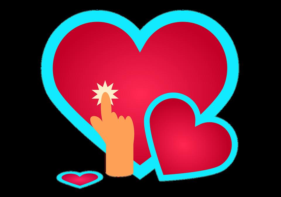 Hearts, Love, Romance, Romantic, Cutout