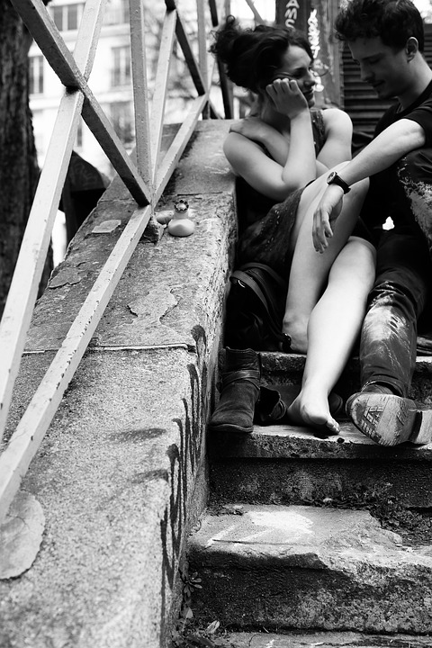 Street Photography, In Love, Couple, Romantic, Love