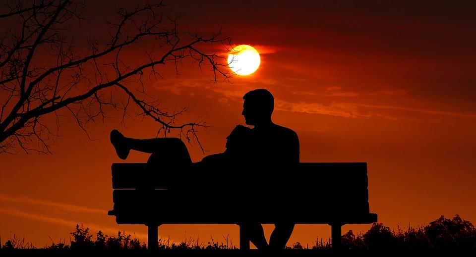 Free Photo Romantic Sunset Love Romance Couple Twilight Max Pixel
