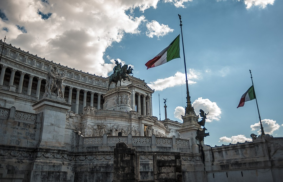 Rome, Altar, Altar Of The Fatherland, Italy