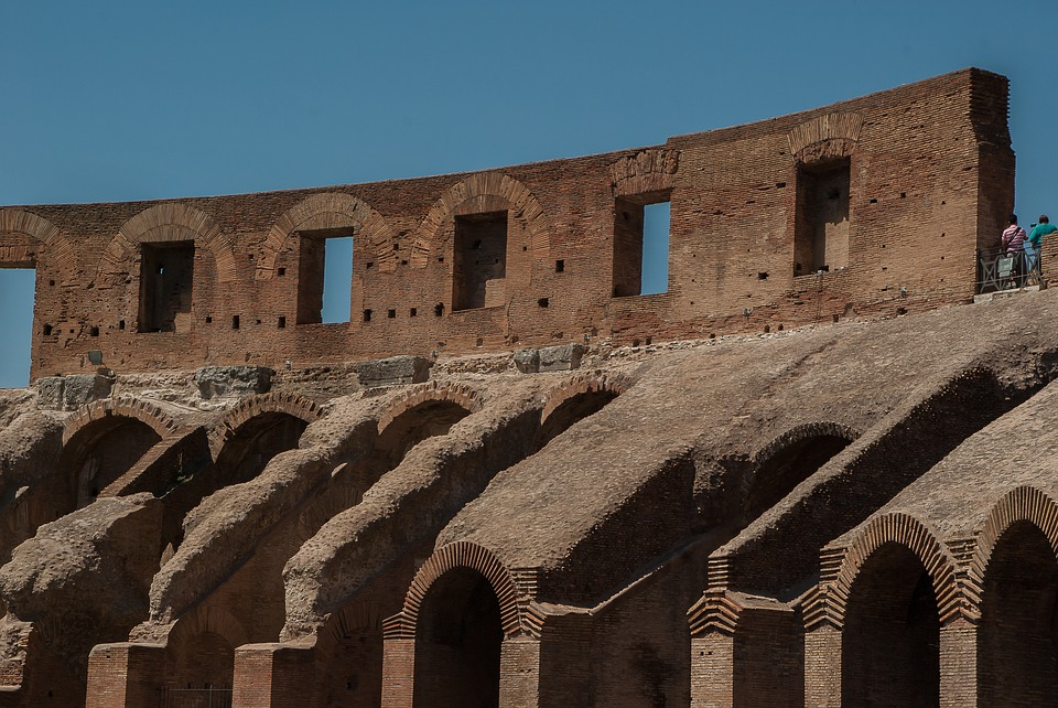 Rome, Coliseum, Amphitheater, Ancient Architecture