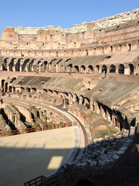 Italy, Colosseum, Rome, Monument, Building, Romans