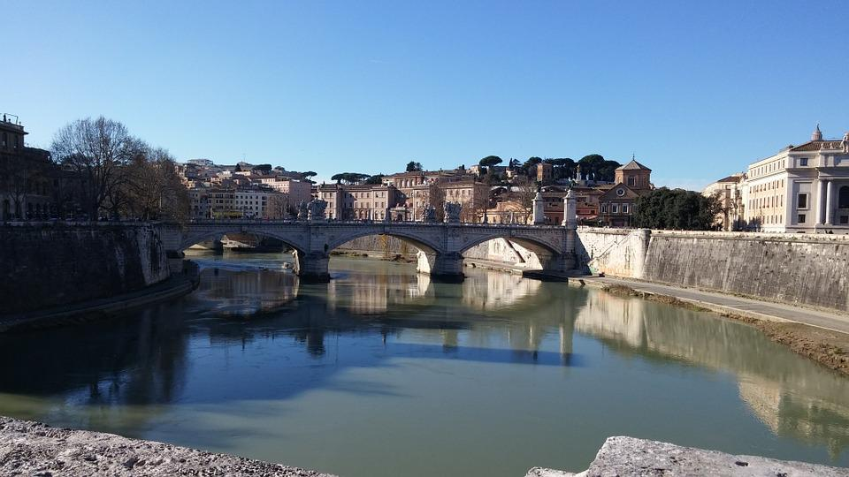 Rome, Tiber, Capital, Italy