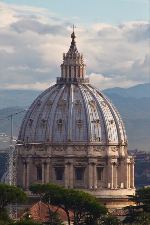 Vatican, Dome, Rome, St Peter's Basilica, Catholicism