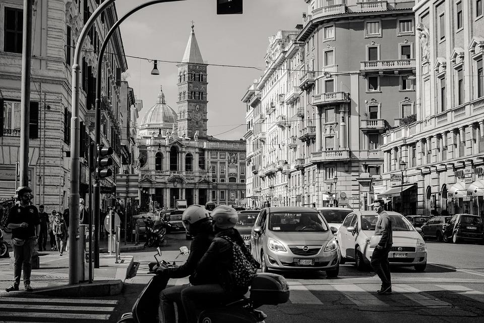 Rome, Eternal City, History, Traffic, City, Human