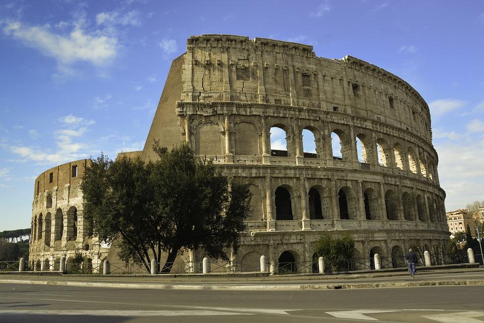 Colosseum, Italy, Rome, Colloseum, Culture, Stone