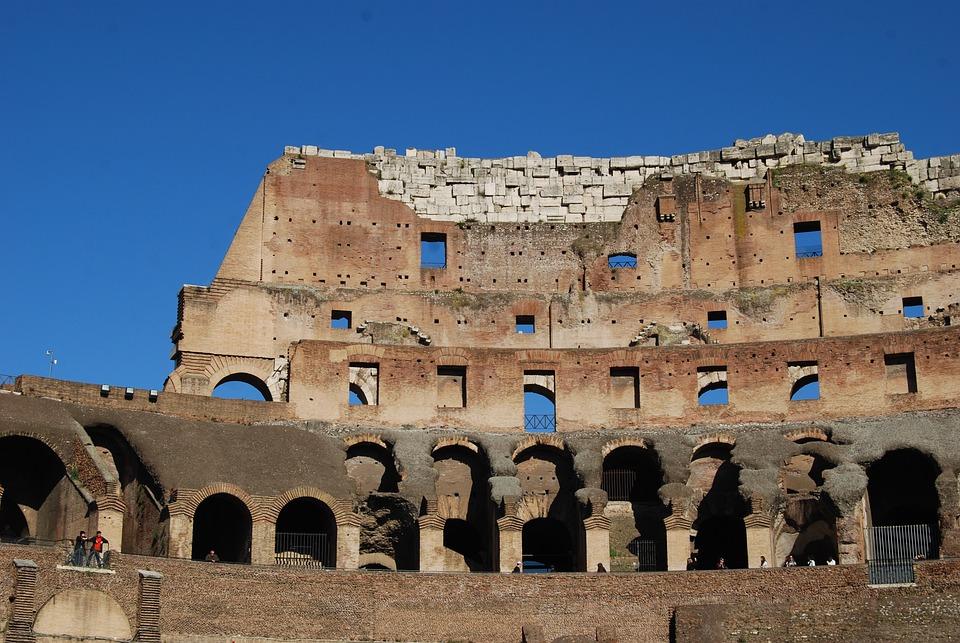 Colosseum, Rome, Italy, Europe, Travel, Landmark