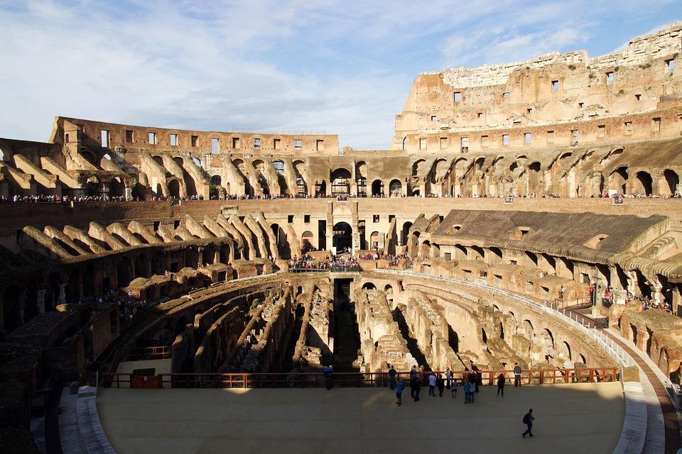 Colosseum, Rome, Lazio, Italy, Roman Coliseum, Culture