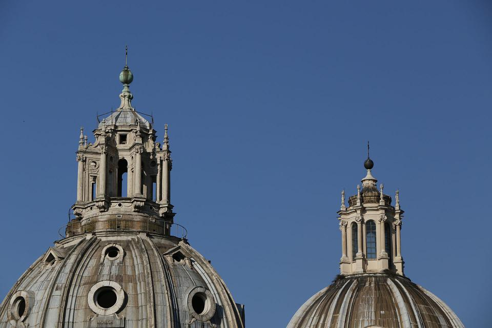 Church, Dome, Rome, Dom, Architecture