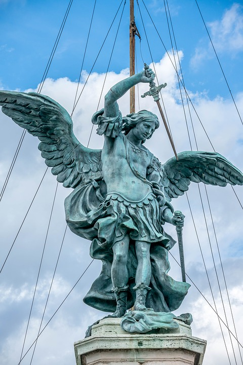 Rome, Eternity, Architecture, City, History, Angel