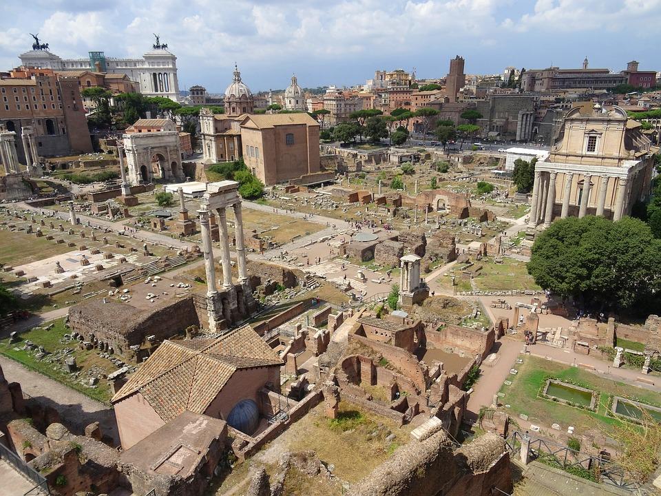 Rome, Italy, Antique, Roman Forum, Ancient Architecture