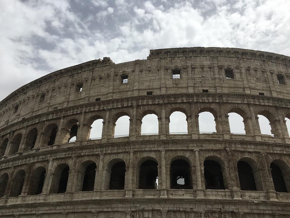 Rome, Roma, Italy, Italia, Europe, Ancient, Colosseum