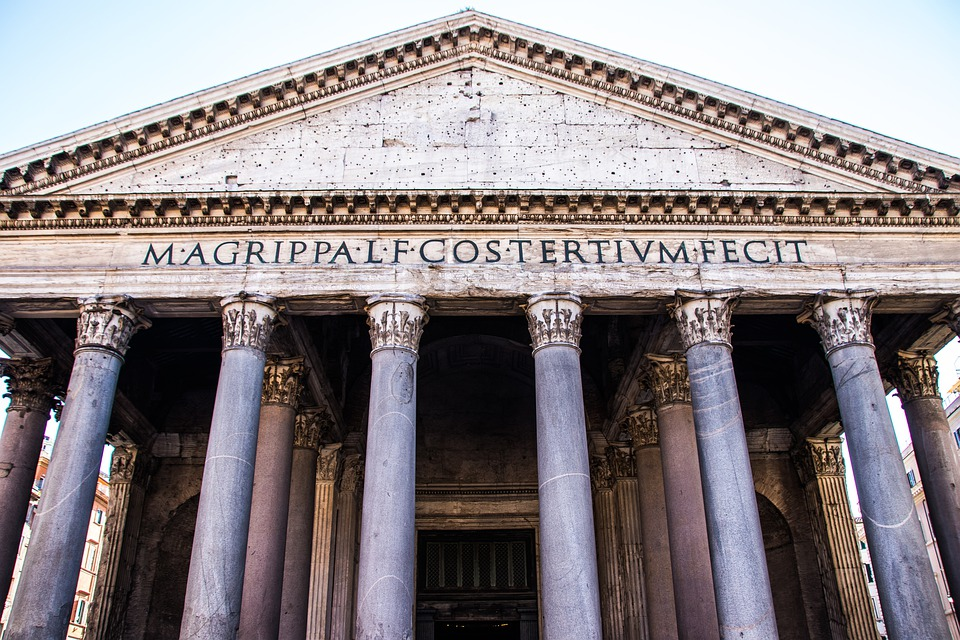 Rome, Pantheon, Italy, Architecture, Monument