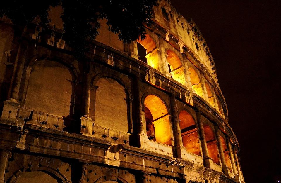 The Coliseum, Rome, Italy, The Amphitheater, Rome City