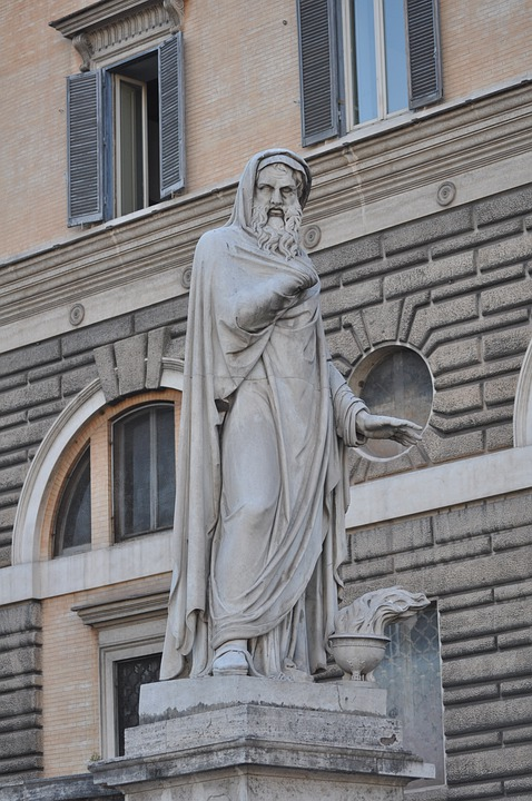 Statue, Rome, Monument, Sculpture, Old, Marble