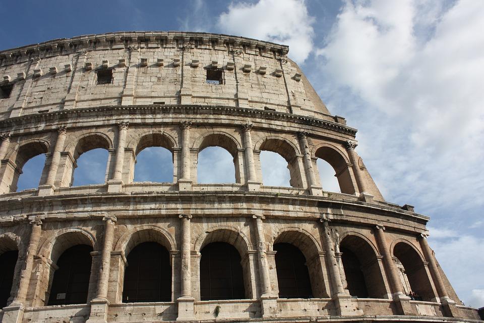Colosseum, Ancient Rome, Roman Coliseum, Ancient, Rome