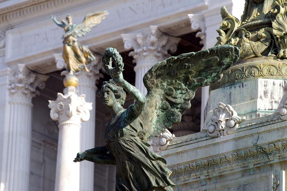 Rome, Monument, Italy, Landmark, Sculpture