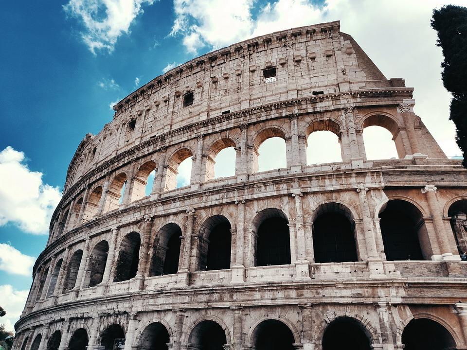 The Coliseum, Rome, Italy, Italia, Colloseum, Roma