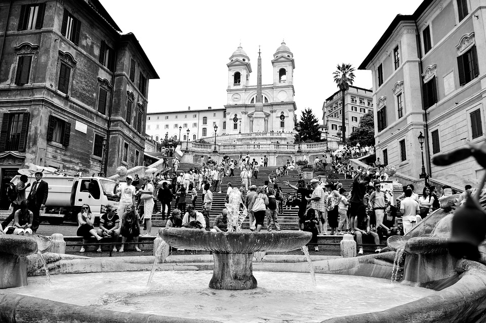 Rome, Italy, Spanish, Steps, Travel, Architecture