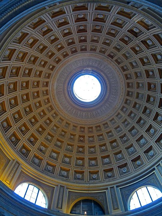 Vatican, Dome, Italy, Architecture, Rome