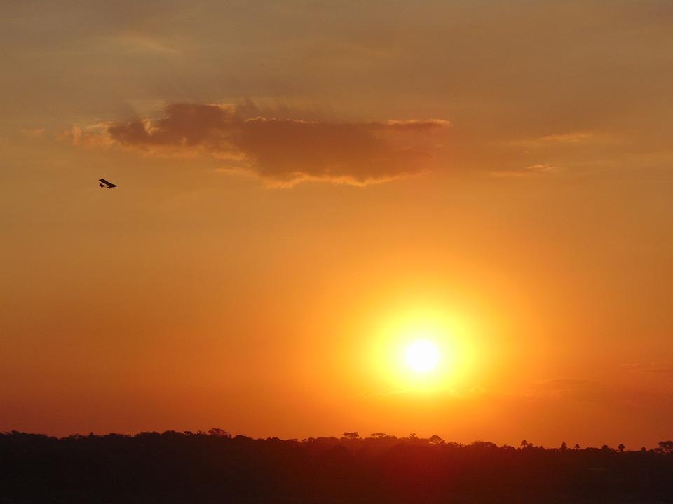 Sunset, Sol, Sky, Silhouette, Porto Velho, Rondônia