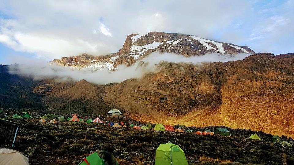 Kilimanjaro, Barranco Wall, Roof Africa, Machame