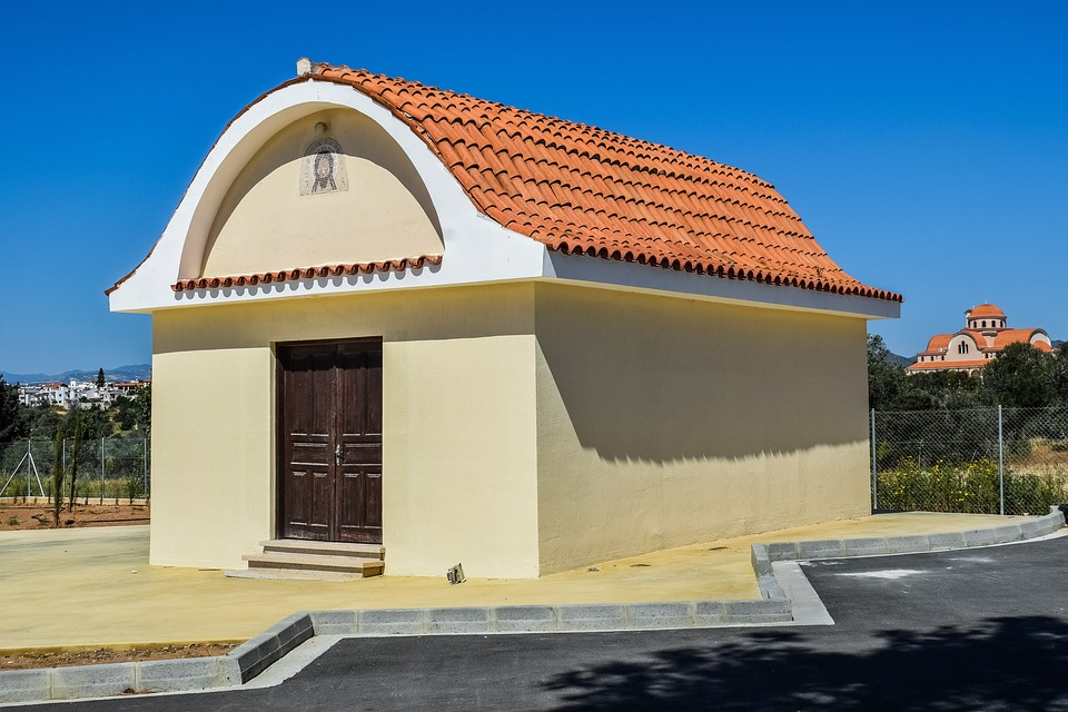 Church, Architecture, Sky, Roof, Building, Religion