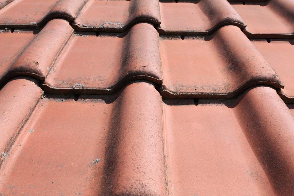 Roof, Brick, Close, Red
