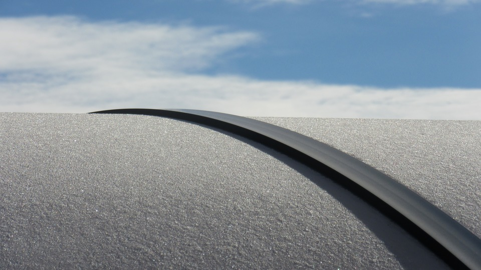 Eiskristalle, Arch, Curved, Roof, Shiny, Cold, Sparkle