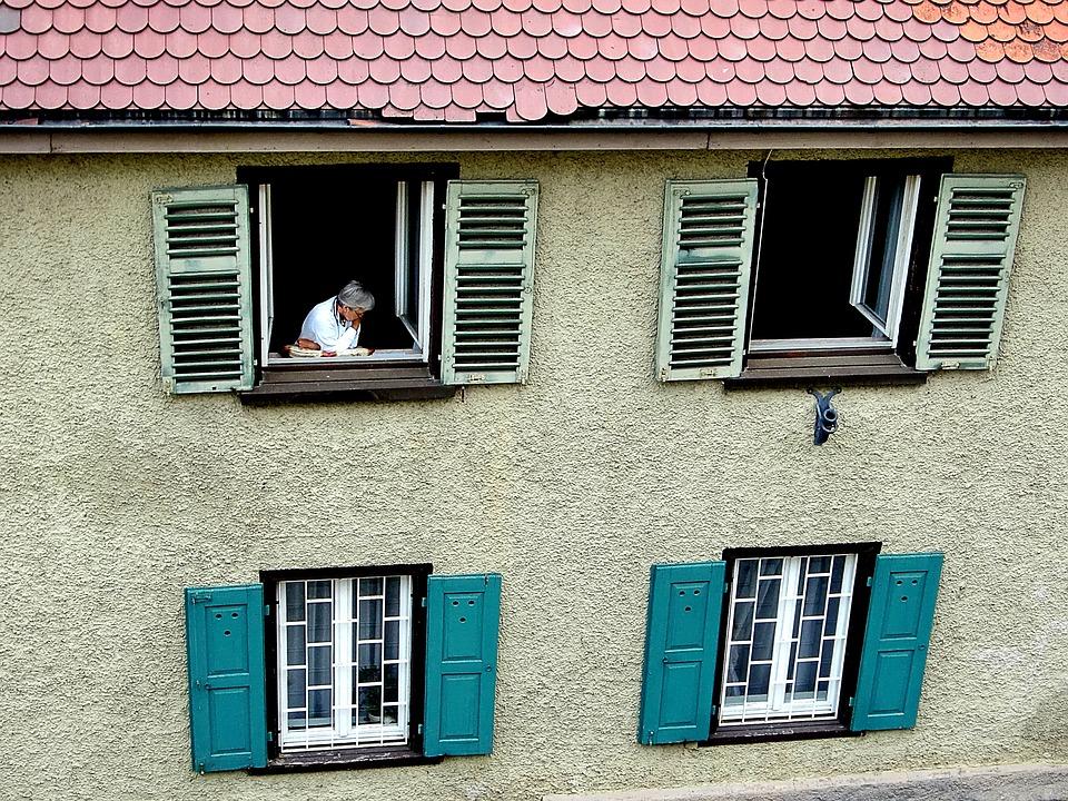 Facade, Home, Window, Shutter, Bowever, Roof Plate