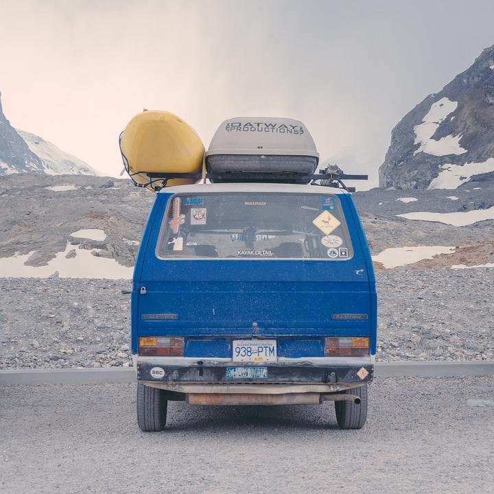 Road Trip, Van, Travel, Transportation, Roof Rack