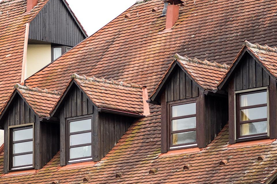 Roof, Roof Gaupe, Truss, Fachwerkhaus, Old Town