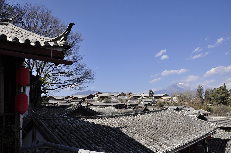 Roof, Traditional, Sky