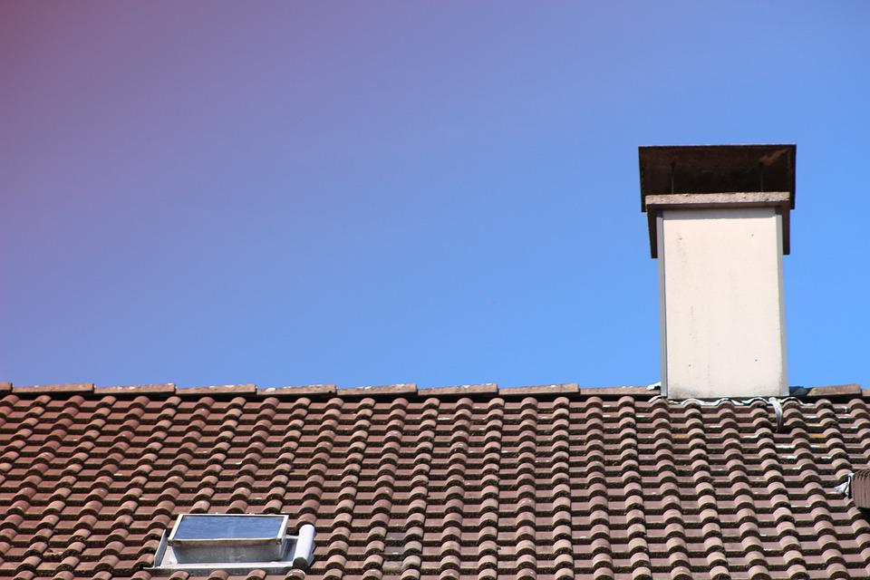 Roof, Chimney, Home, Building, Symbol, Window, Casing