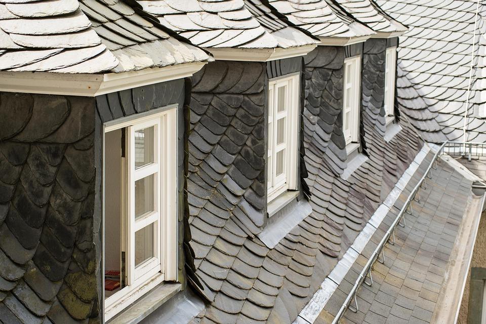 Roof, Window, Roof Windows, Roofing, Slate, Grey
