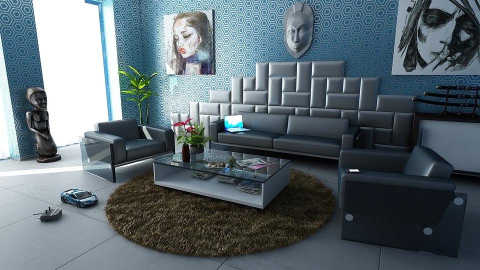 Room, Apartment, Interior Design, Decoration, Design